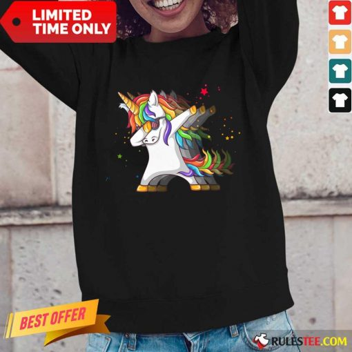 Nice LGBT Unicorn Long-Sleeved