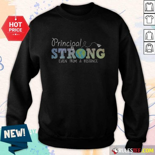 Perfect Earth Principal Strong Even From A Distance Sweater