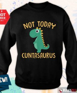 Perfect Not Today Cuntasaurus Sweater