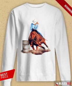 Premium Horse Girl Race 2021 Long-Sleeved