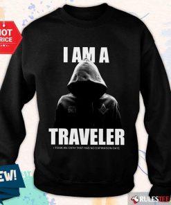 Premium I Am A Traveler Sweater