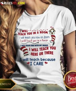 Pretty I Will Teach You Here Or There Ladies Tee