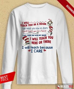 Pretty I Will Teach You Here Or There Long-Sleeved