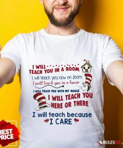 Pretty I Will Teach You Here Or There Shirt