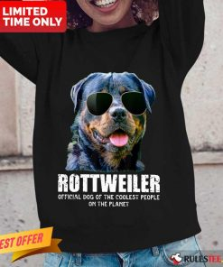 Pretty Rottweiler Coolest People On The Planet Long-Sleeved