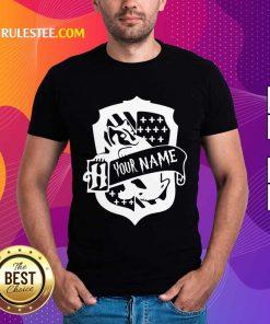Top Hufflepuff Your Name Harry Potter Shirt