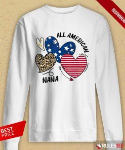 All American Nana Long-Sleeved
