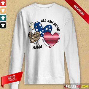All American Nana Long-Sleeved