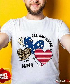 All American Nana Shirt