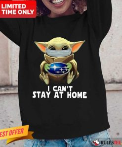 Baby Yoda I Can't Stay At Home Long-Sleeved