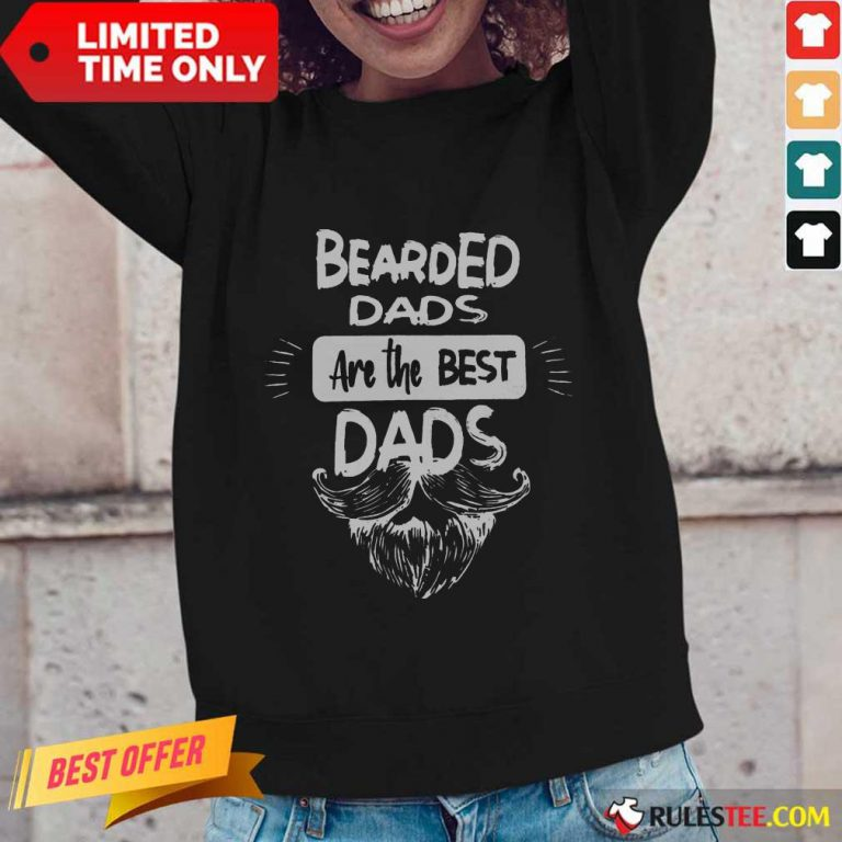 Bearded Dads Are The Best Dads Long-Sleeved