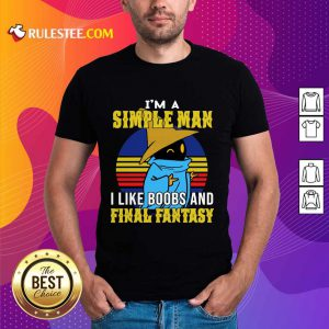 Black Mage I'm A Simple Man Shirt