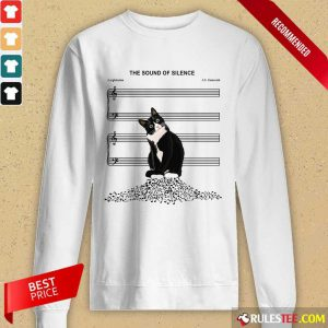 Cats And Music The Sound Of Silence Long-Sleeved