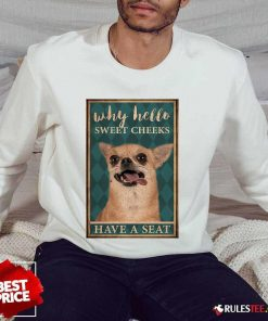 Chihuahua Why Hello Poster Sweater