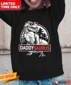 Daddy Saurus Father's Day Long-Sleeved