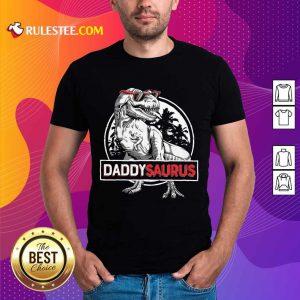 Daddy Saurus Father's Day Shirt