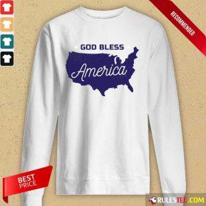 God Bless America Long-Sleeved