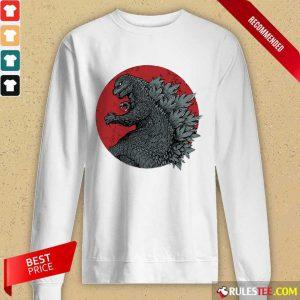 Godzilla Blood Moon Long-Sleeved