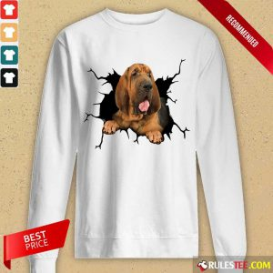 I Love Bloodhound Long-Sleeved