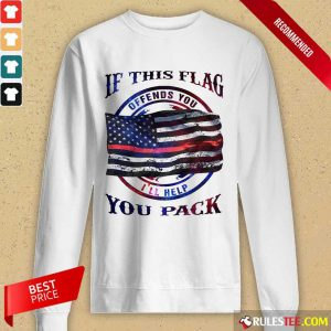 If This Flag I'll Help You Pack Long-Sleeved