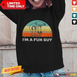 I'm A Fun Guy Vintage Long-Sleeved