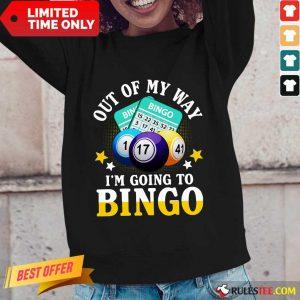 I'm Going To Bingo Long-Sleeved