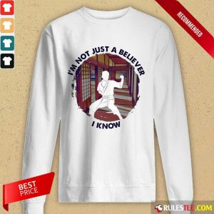 I'm Not Just A Believer Karate Long-Sleeved
