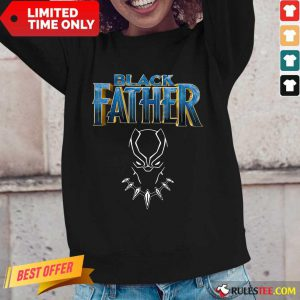 Iron Man Black Father Long-Sleeved