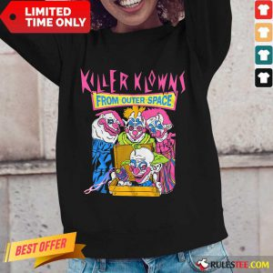 Killer Klowns From Outer Space Long-Sleeved