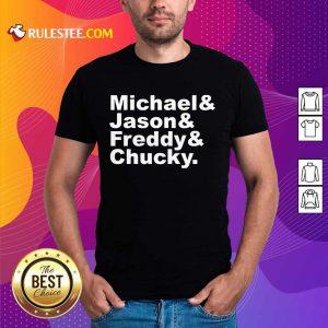 Michael Jason Freddy Chucky Shirt