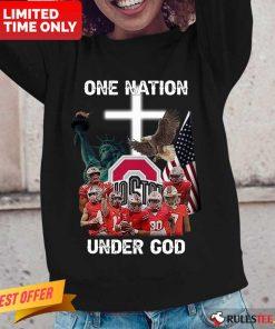 Ohio State Buckeyes One Nation Under God Long-Sleeved