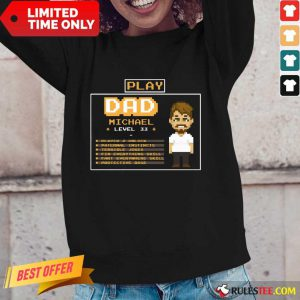 Playing Game Father Character Customize Long-Sleeved