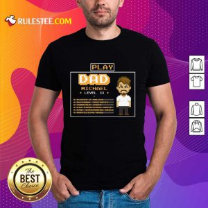 Playing Game Father Character Customize Shirt