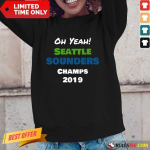 Seattle Sounders Champs 2019 Long-Sleeved