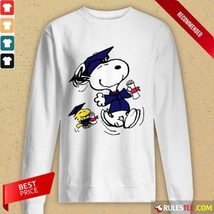 Snoopy And Graduation Long-Sleeved