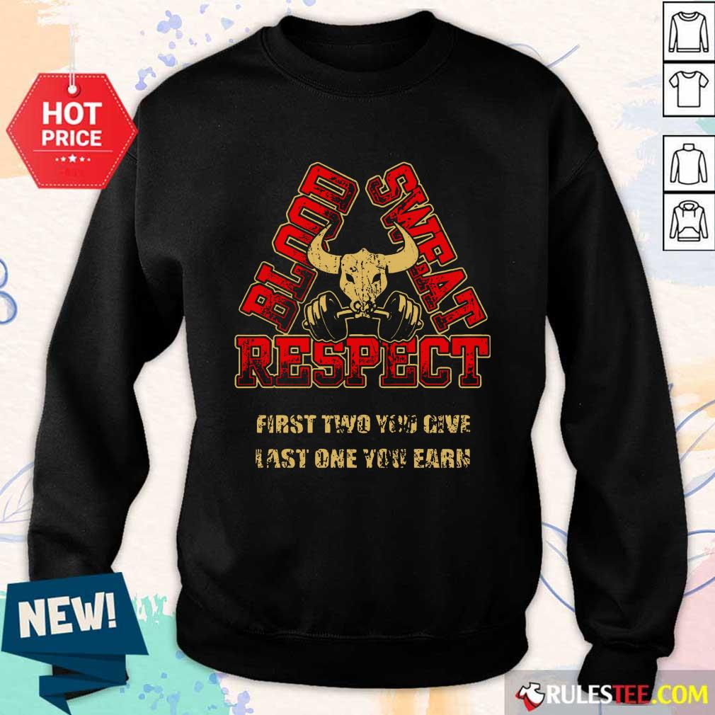 Weightlifting Blood Sweat Respect Sweater