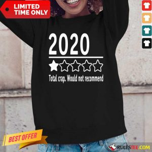 2020 Total Crap Would Not Recommend Long-Sleeved