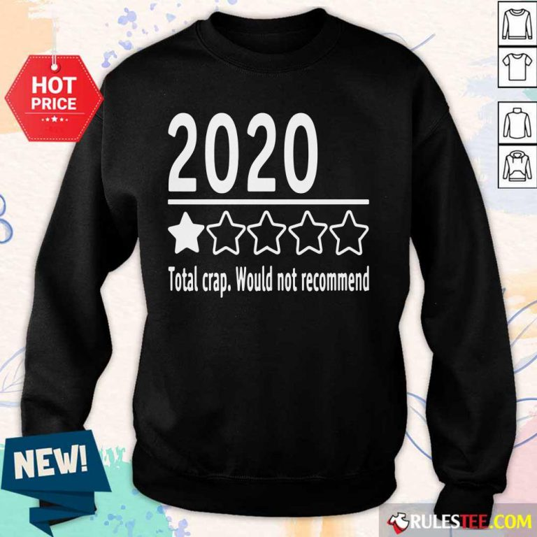 2020 Total Crap Would Not Recommend Sweater