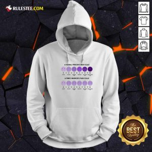 A Normal Person's Pain Scale A Fibro Warrior's Pain Scale Hoodie