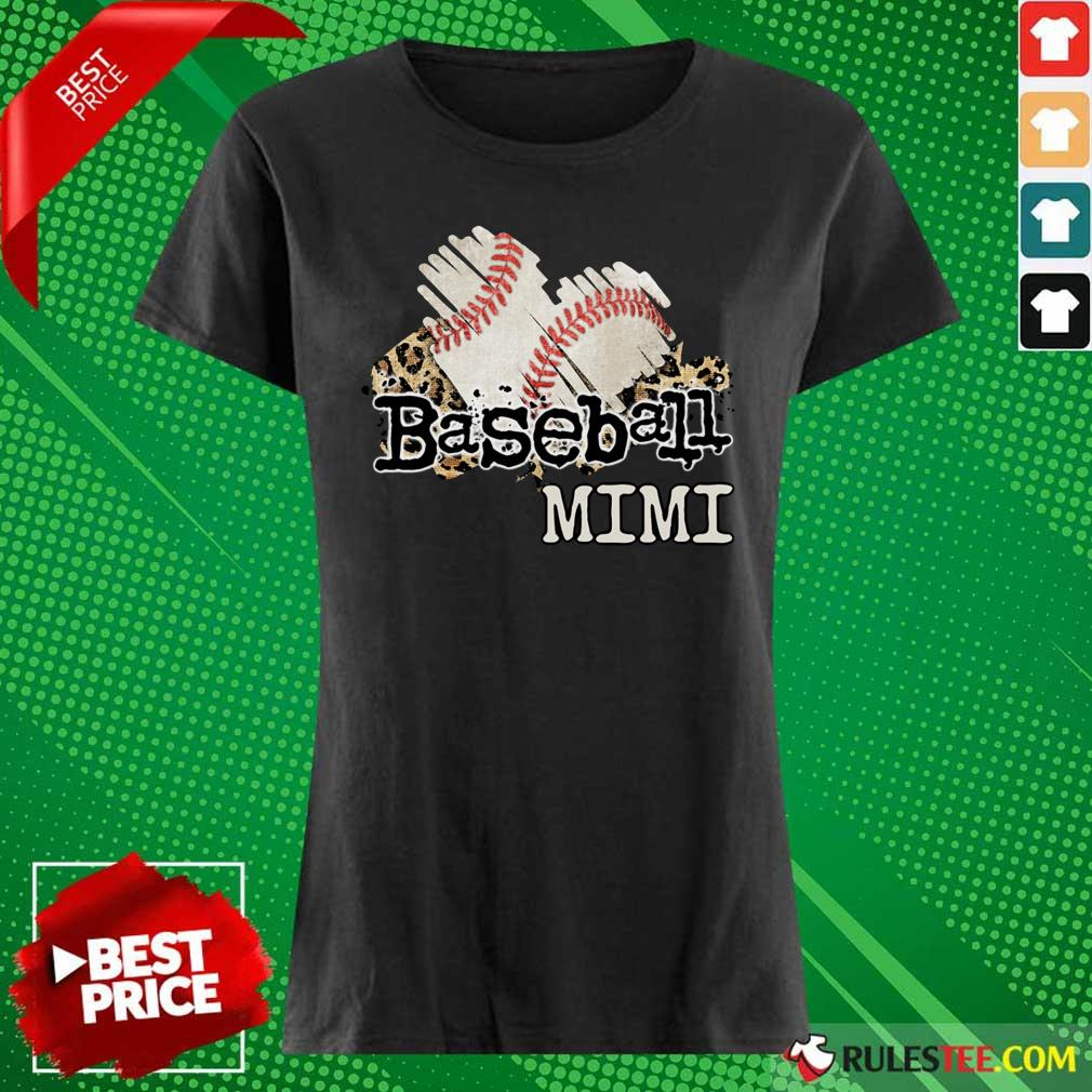 Baseball Mimi Ladies Tee