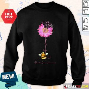 Bee Strong Breast Cancer Awareness Sweater