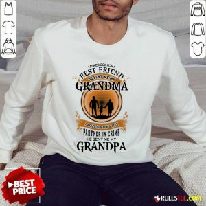 Best Friend Grandma And Grandpa Sweater