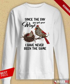 Bird Since The Day You Got Wings Long-Sleeved