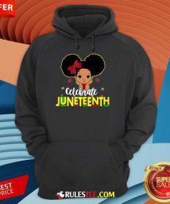Black Girl Kids Juneteenth Hoodie