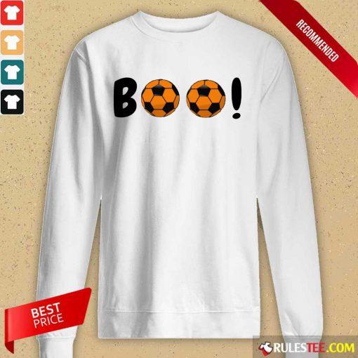 Boo Ball Soccer Long-Sleeved