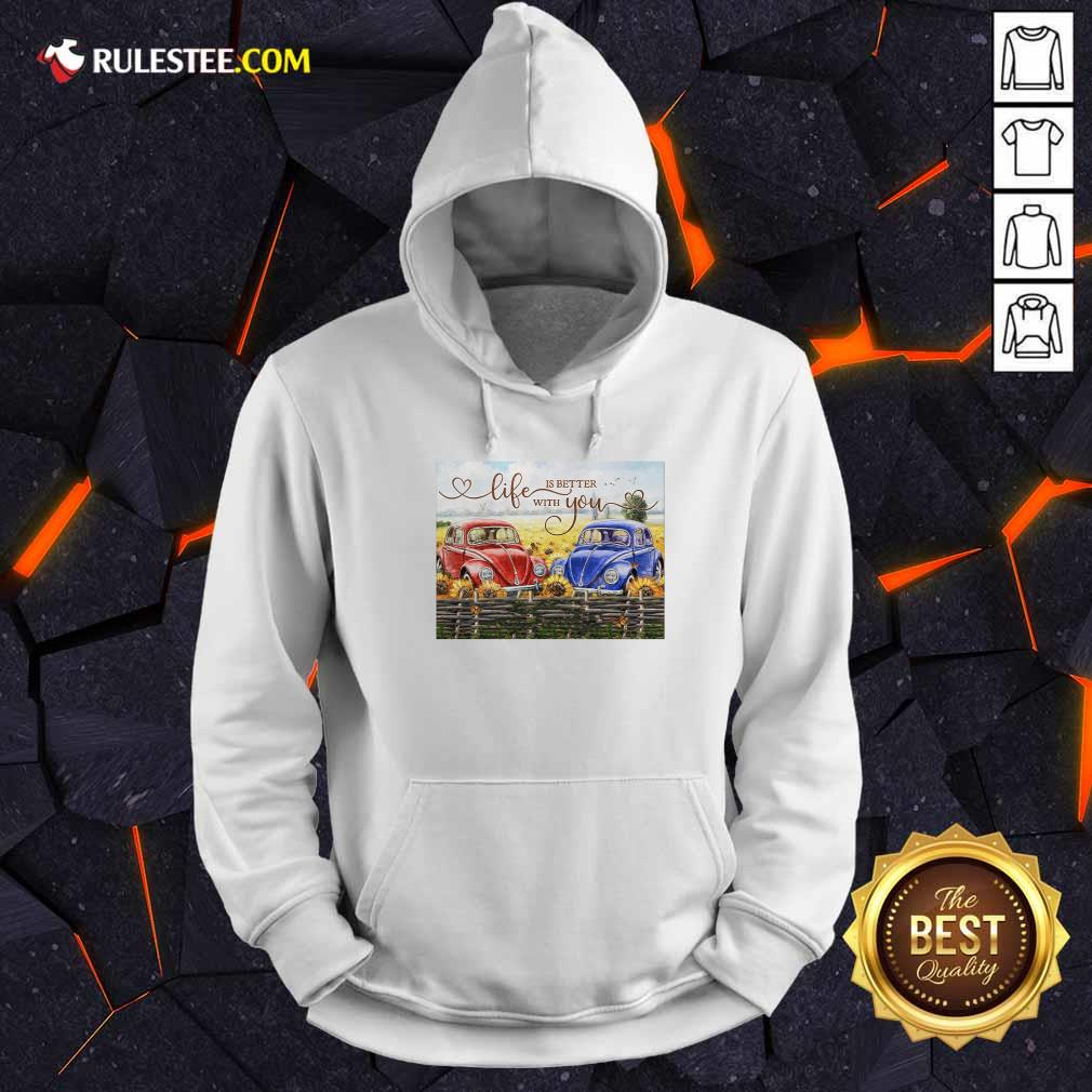 Car Life Is Better With You Mr And Mrs Thompson Hoodie