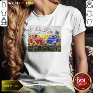 Car Life Is Better With You Mr And Mrs Thompson Ladies Tee