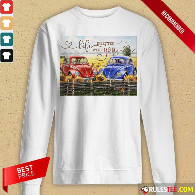 Car Life Is Better With You Mr And Mrs Thompson Long-Sleeved
