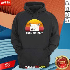 Cat Free Britney Movement Vintage Hoodie