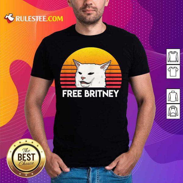 Cat Free Britney Movement Vintage Shirt